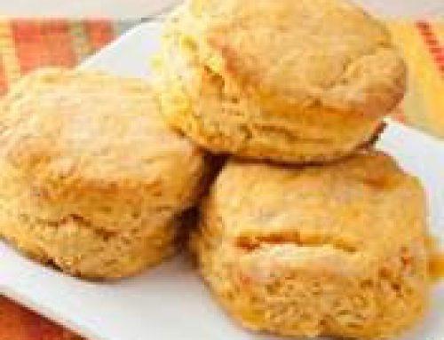 Cajun Sweet Potato Biscuits