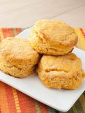 Cajun Sweet Potato Biscuits