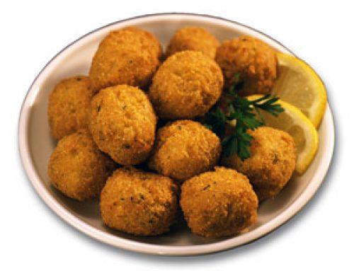 CAJUN CATFISH BALLS
