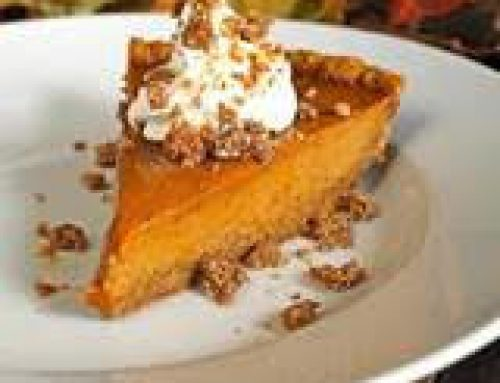 PAULINE'S SINSATIONAL PUMPKING PIE