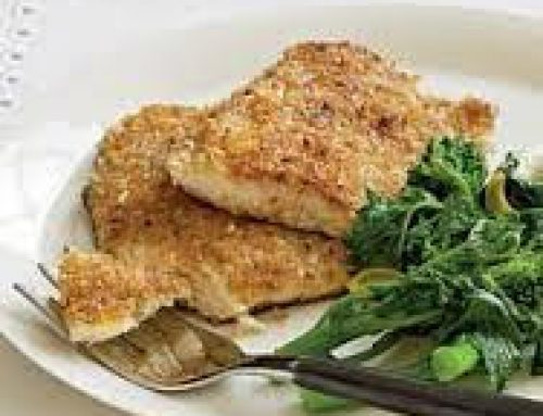 BUTTER CRUSTED SPECKLED TROUT
